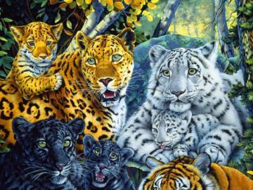 """""""Big cats"""". - Animals: """"Big cats""""."""