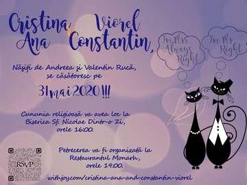 Invitatie - Invitatie la nunta Cristina & Viorel