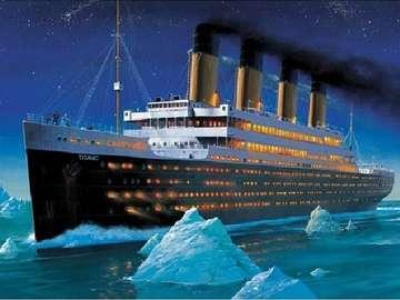 Titanic. - Układanka: Titanic