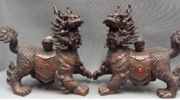 Chinese figurines - Chinese feng shui figurines.