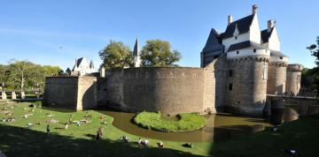 castle of the dukes of Brittany in nantes - castle of the dukes of Brittany in nantes