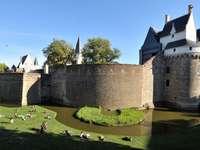 замък на бретонските принцове в Нант