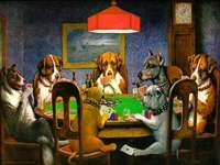 Dogs at the table