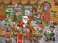 De noël - Puzzle de Noël.