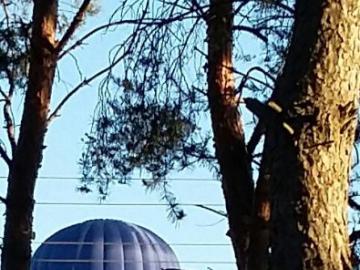 Balloon over the Narew - Balloon flight over the Narew