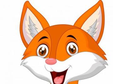 cute fox - a cute fox