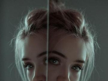 her duality - sometimes I think there are two of us
