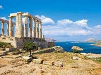 Greek ruins. - Puzzle: Greek Ruins. Puzzle: Greek ruins.