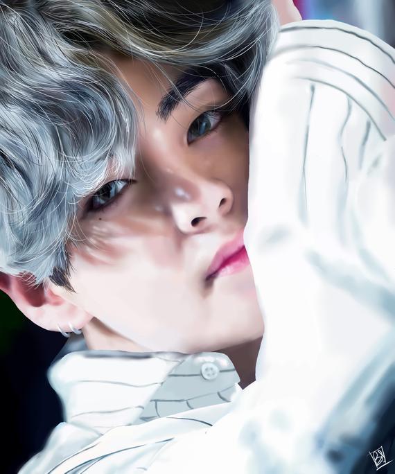 Kim Taehyung - bts member, kim taehyung, colorful