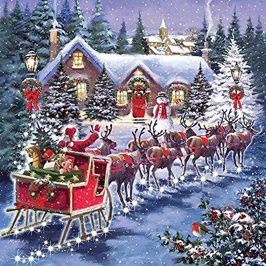 Foto di Natale. - Puzzle di Natale.