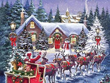 Christmas picture. - Christmas puzzle.