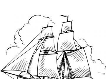 okręty magellana - okręt do zabawy z podróżami magellana