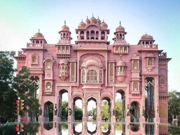 Patrika Gate - Miejsce historyczne, Dźajpur, Indie