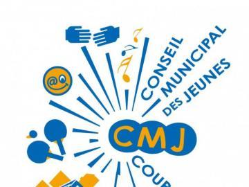 CMJCourbevoie - logo CMJ de Courbevoie
