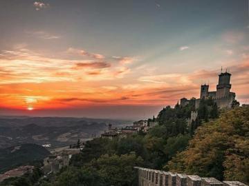 San Marino, widoki - oj oj oj oj oj oj oj oj