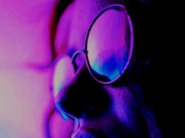 purple haze - purple lights photograph