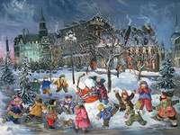 Vánoce - Puzzle Vánoce.