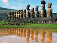 Сгради на Великденските острови. -  Великденски острови.