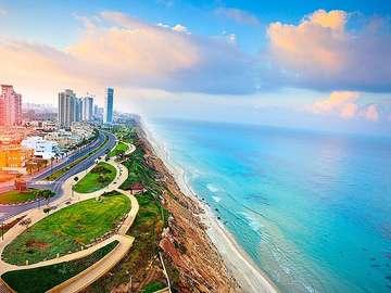 Costa israelense. - Quebra-cabeça: costa israelense.