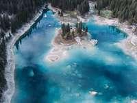 Езерото Каумасие в Швейцария