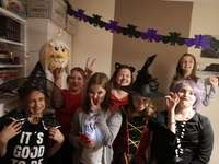 Festa de Halloween - Uma foto da festa de Halloween