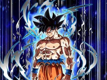 Dragon ball - Dragon Ball Goku ultra instynkt