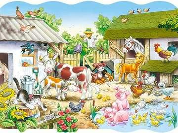 Animali da fattoria. - Animali da fattoria.