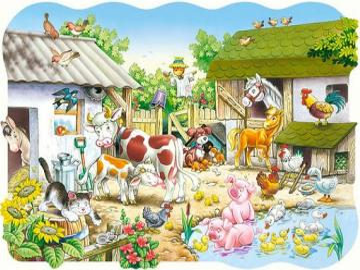Farm animals. - Farm animals.