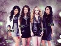 Selena Miley Demi Taylor - Selena och Miley och Demi och Taylor
