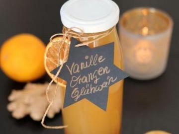 Cynamonowy sok - Sok z pomarańczy i cynamonu