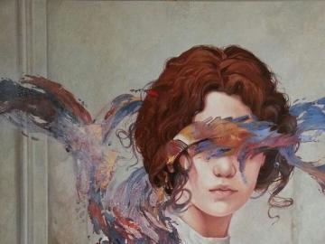 Sztuka nowoczesna - Kobieta na obrazie, sztuka
