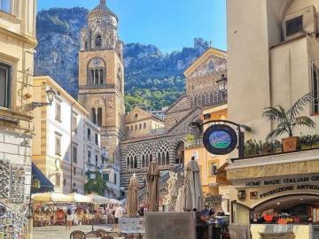 Katedra w Amalfi - Katedra św. Andrzeja Apostoła w Amalfi, prowincja Salerno