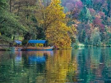 Lake Bled - Autumn at Lake Bled.