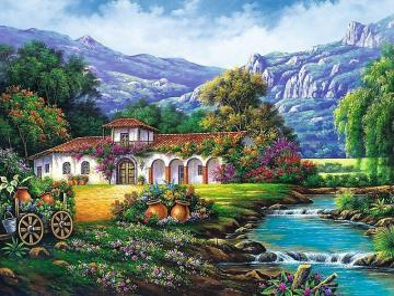 Malarstwo krajobrazowe. - Malarstwo krajobrazowe.