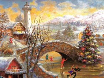 Christmas time. - Puzzle Christmas time.