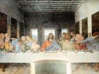 elipozzoli - el rompecabezas de la cena de leonard de Vinci
