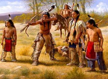 Native Americans. - Jigsaw puzzle. Native Americans.