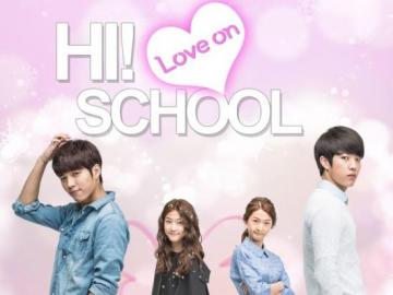 hi school love on - she is an angel, she becomes a human, korean drama, find this in premieres dramas net