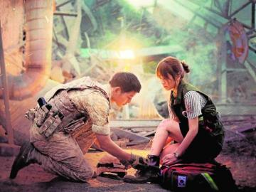 descendants of the sun - Korean drama, beautiful drama, very famous
