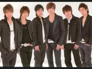 groupe japonais - les gars, beaux chanteurs j'espère que vous l'aimez