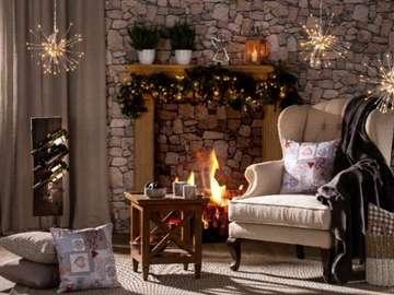 Świąteczny salon - Świąteczny klimat w salonie