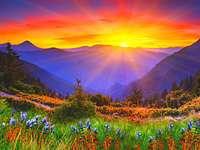 východ slunce východ slunce