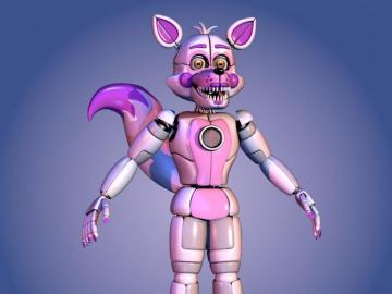 Prototype Funtime Foxy - You found me Micheal Afton Room, did you?
