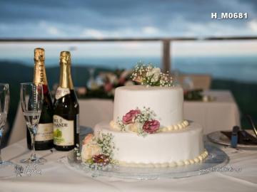pastel de bodas 1 - pastel de bodas con vistas