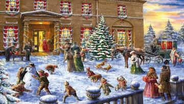 Christmas. - Jigsaw puzzle. Christmas.