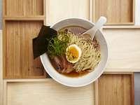 Ramen koreanisches Essen - Es ist ein köstliches Essen, hoffe ich