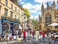 Dans une ville anglaise - Dans une ville anglaise