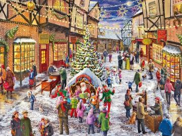 Shopping natalizio. - Shopping natalizio.