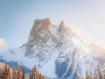 Alpejski krajobraz - Krajobraz Alp Szwajcarskich