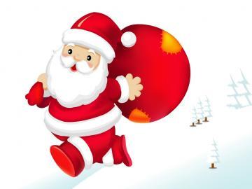 Babbo Natale - L'immagine generale è panchine da sistemare.